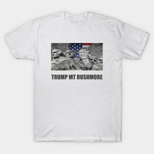 Trump mt Rushmore 2020 Tshirt   Trump Face on Mount Rush More