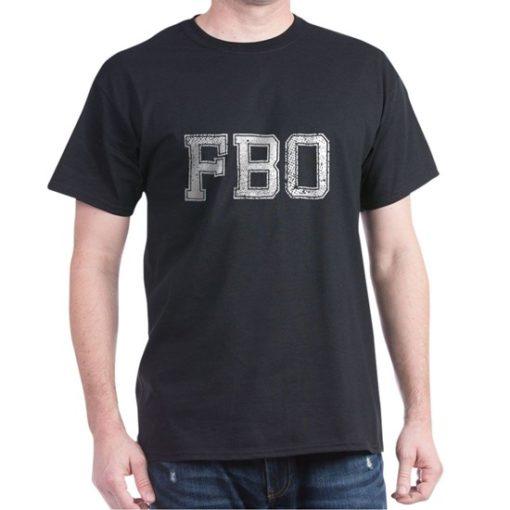 FBO - F Barack Obama T-Shirt in FBI Style