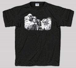Reagan on Rushmore Black Tee Shirt