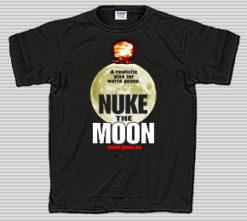 Nuke the Moon Black T-Shirt