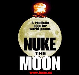 Nuke the Moon Black Shirt