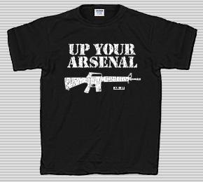 Up Your Arsenal AR-15 T-Shirt