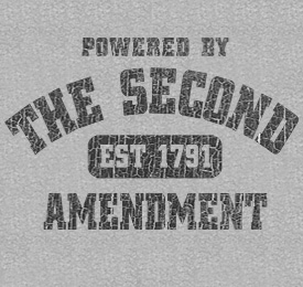 Powered by the Second Amendment Shirt