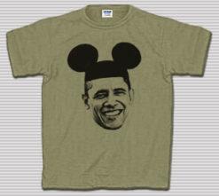 Mickey Mouse Barack Obama T-Shirt