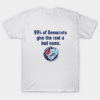 99% of Democrats Give the Rest a Bad Name T-Shirt