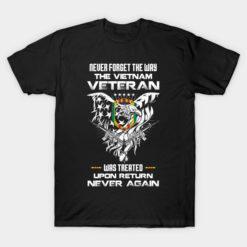 Memorial Vietnam Veteran American Eagle Flag Shirt Veterans Fathers Independence Day