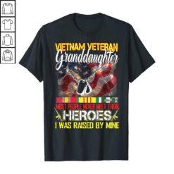 Vietnam Veteran Granddaughter Shirt Proud Vietnam Veterans TShirt