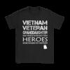 vietnam veteran granddaughter my hero raised my mother shirts