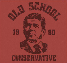 Old School Conservative Weathered Shirt