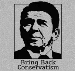 Bring Back Conservatism Sport Grey Shirt