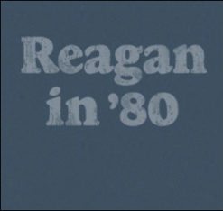Vintage Reagan in 80 Shirt