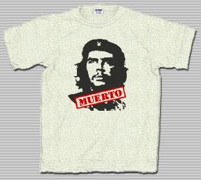 Che Muerto Ash Grey T-Shirt
