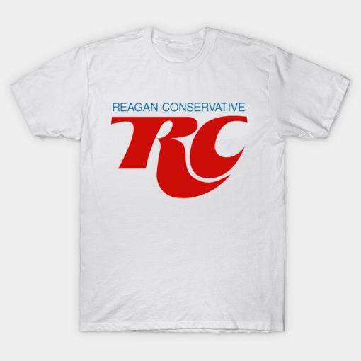 Reagan Conservative T-Shirt, White