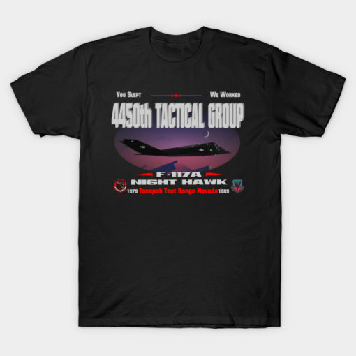 4450th Tactical Group...You Slept--We Worked
