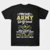 Proud Army Girlfriend Most People T Shirt Memorials Day