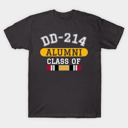 DD-214 Alumni Class of Iraq War Veteran Pride