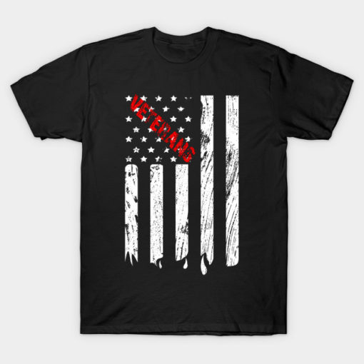 veterans day american flag tshirt gift ideas