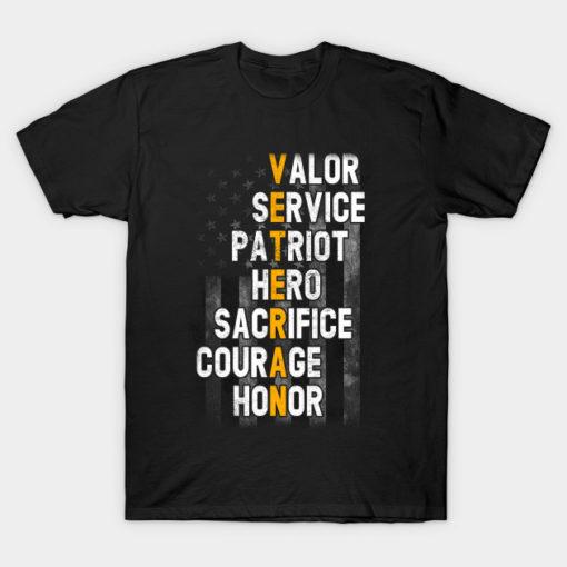 Veteran Kids T shirt Veterans day gift