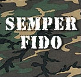 Semper Fido - Camo Dog T-Shirt