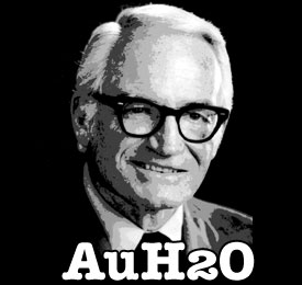 Barry Goldwater AuH2O Shirt