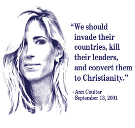 Ann Coulter 9-11 Quote White Shirt
