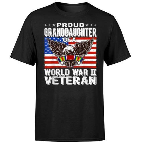 Granddaughter Of World War 2 Veteran Patriotic Ww2