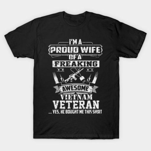 Proud Vietnam Veteran Wife