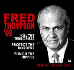 IMAO's Fred Thompson '08 Shirt