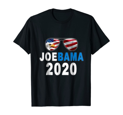 JoeBama 2020 T shirt Joe Biden Obama President Campaign Tee