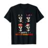 Husky Halloween And Merry Christmas Happy Hallothanksmas T-Shirt