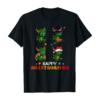 Dragon Halloween And Merry Christmas Happy Hallothanksmas T-Shirt