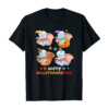 Elephant Halloween And Merry Christmas Happy Hallothanksmas T-Shirt