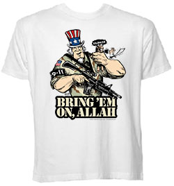 Bring 'Em On, Allah T-Shirt