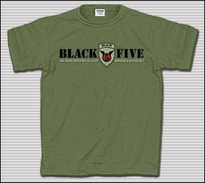 BlackFive Army Green T-Shirt