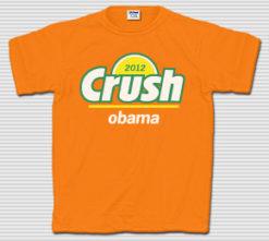 Crush Obama 2012 T-Shirt