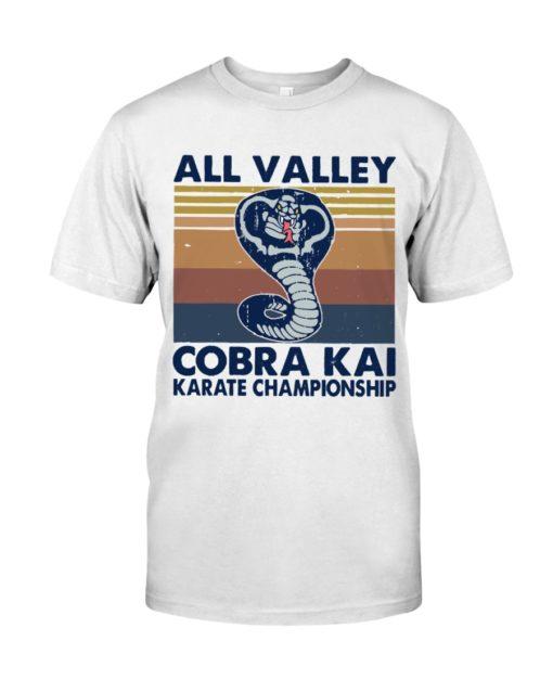 All Valley Cobra Kai Karate Championship Shirt Classic T-Shirt