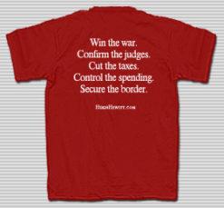 The Official Hugh Hewitt Shirt
