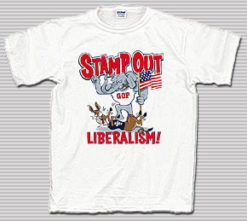 Stamp Out Liberalism T-Shirt