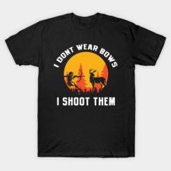 I dont wear bows I shoot them Women Hunter Duck