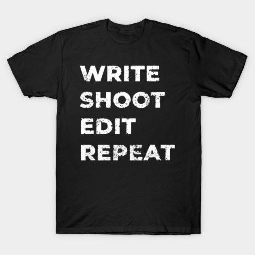 write shoot edit repeat white