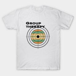 Group therapy shirt, Shooting Range Rifle Hunting T-Shirt, group running shirts, hunting shirt