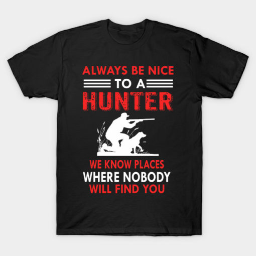 Hunter Tshirt design