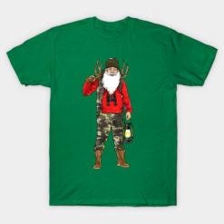 Hunter Hunting Santa Claus Hunt Merry Christmas