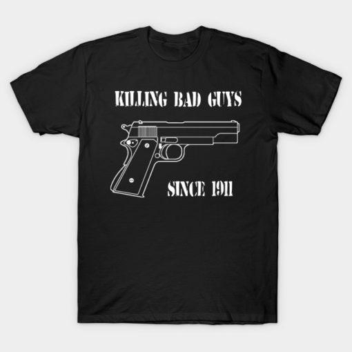 1911 Semi-Automatic Pistol Fan T-shirt