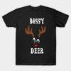 Bossy Reindeer Deer Red nosed Christmas Deer Hunting Hobbies   Interests
