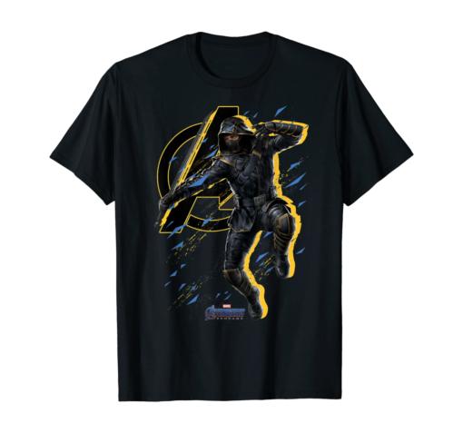 Marvel Avengers Endgame Ronin Splatter Pose Graphic T-Shirt