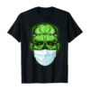 Funny Monster Zombie Mask Simple Halloween Costume 2020 T-Shirt