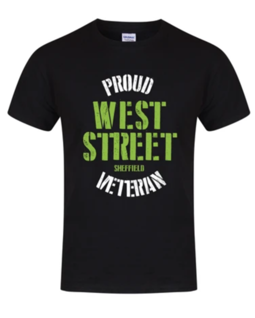Proud west street veteran