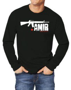 Amir Street Veteran Long-sleeve T-Shirt