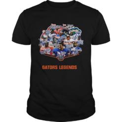 Florida Gators football Steve Spurrier Joe Haden Jevon Kearse Legends Signatures shirt
